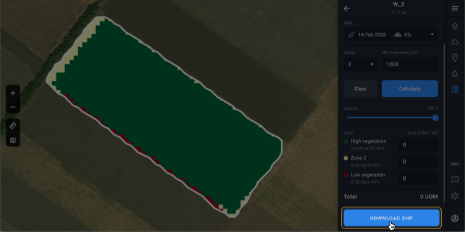 Data support for terminals of top farming machinery manufacturers