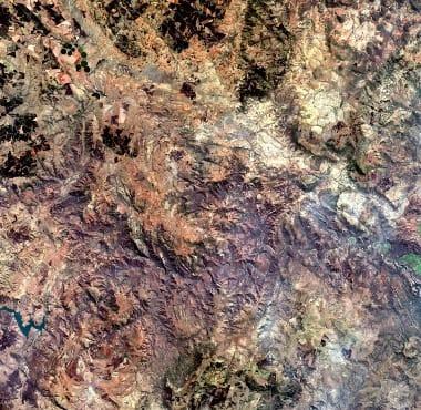 Africa Satellite Image