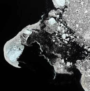 satellite image alaska