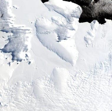 Satellite Image Antarctica