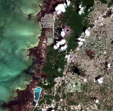satellite image frorida