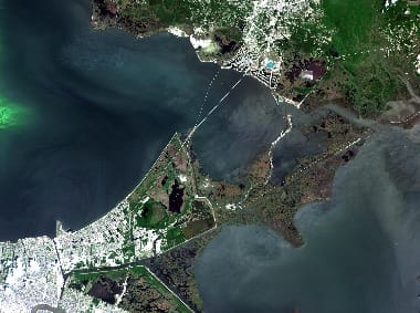 New Orlean satellite image