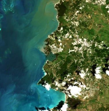 Puerto Rico Satellite Image