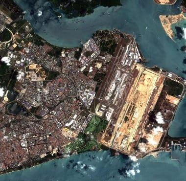 Singapore satellite image