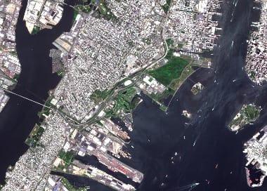 satellite image usa
