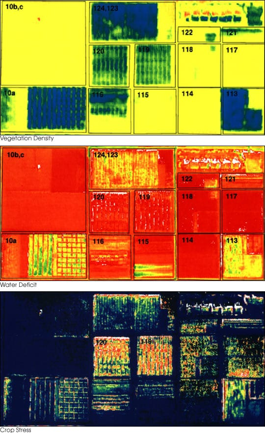 sensing applications in precision farming
