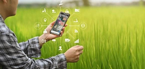 Crop Monitoring app in your smart phone