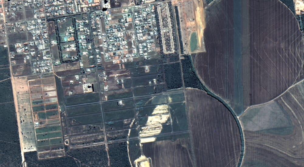 imagen de satélite de alta resolución