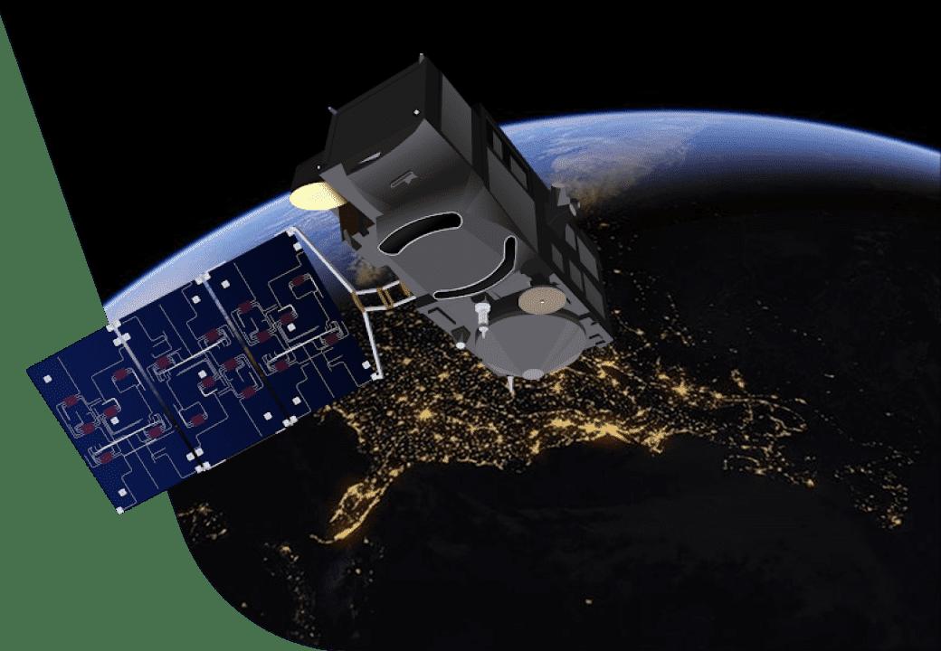 uso de dados de satélite em vários setores