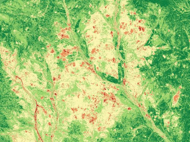 spectral satellite image